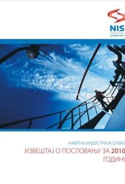 NIS godišnji izveštaj 2010