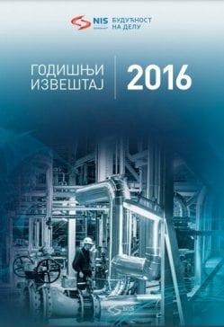 NIS godišnji izveštaj 2016